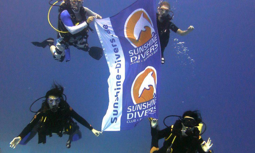 unterwasser-Fahne